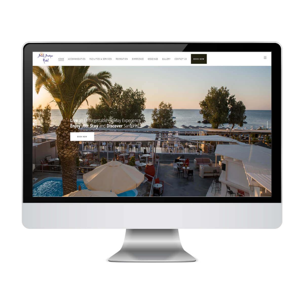 Beach Boutique Hotel - Κατασκευή Ιστοσελίδων για Ξενοδοχεία - SmartWebDesign